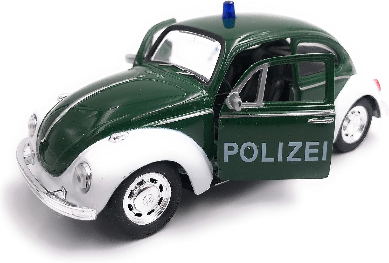 H Customs Käfer Polizei Modellauto Auto Grün Lizenzprodukt 1 34 1 39 Auto