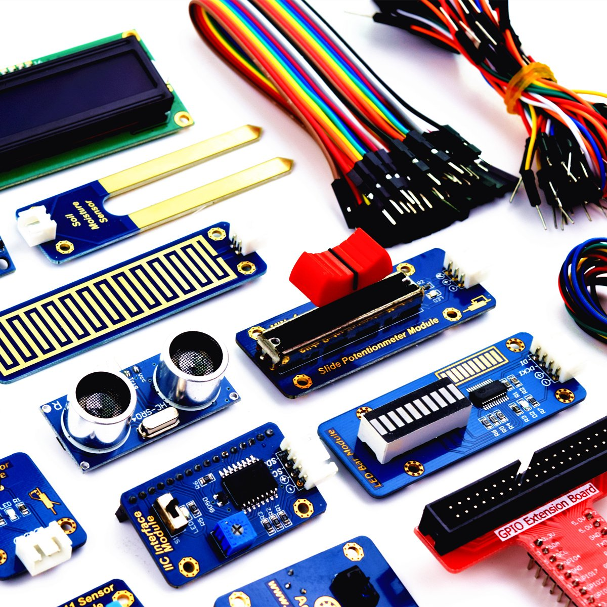 Adeept 46 Modules Ultimate Sensor Kit For Raspberry Pi How To Connect An Led Bar Graph A Circuit Computer Zubehr