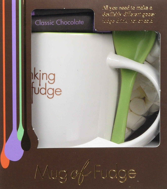 Fudge Kitchen - Drinking Fudge Gift Set - Classic Chocolate - Mug of ...