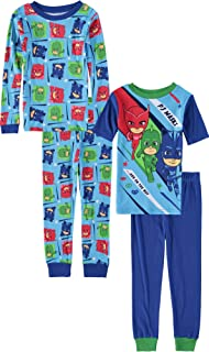 PJMASKS PJ Masks Boys 4-Piece Cotton Pajama Set