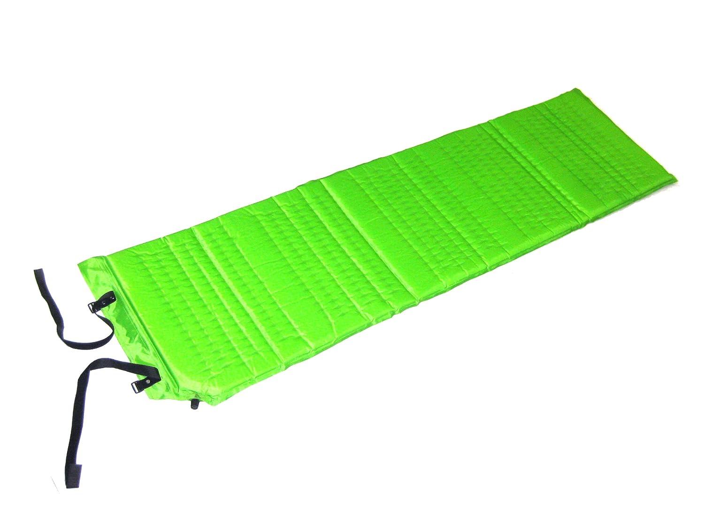 Zaltana Selbstaufblasbare Luftmatratze für Einzelbett, 183 x 56 x 2,5 cm, Grün AMX