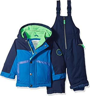 dc7cf15f7 London Fog Baby Boys 2-Piece Snow Pant and Jacket Snowsuit