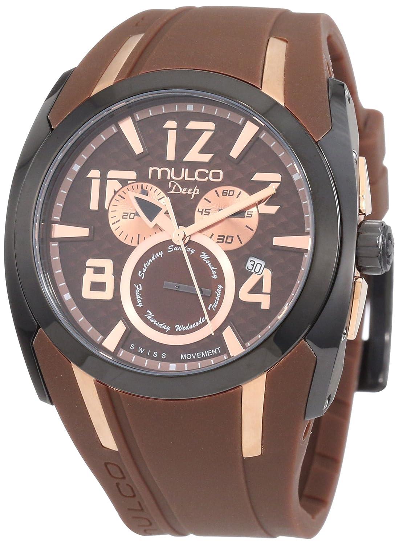 Mulco Unisex MW1-17186-035 Deep Shark Chronograph Swiss Movement Watch
