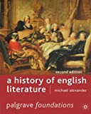 A History of English Literature (Foundations)