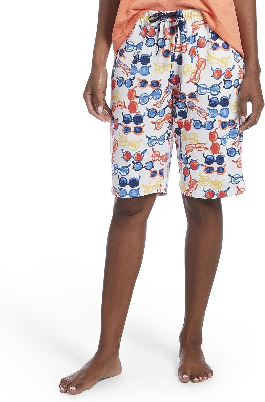 Hue Womens Printed Knit Bermuda Pajama Sleep Short Pajama Bottom