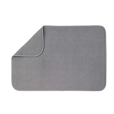 XXL Dish Mat 24  x 17  (LARGEST MAT) Microfiber Dish Drying Mat, Super absorbent by Bellemain