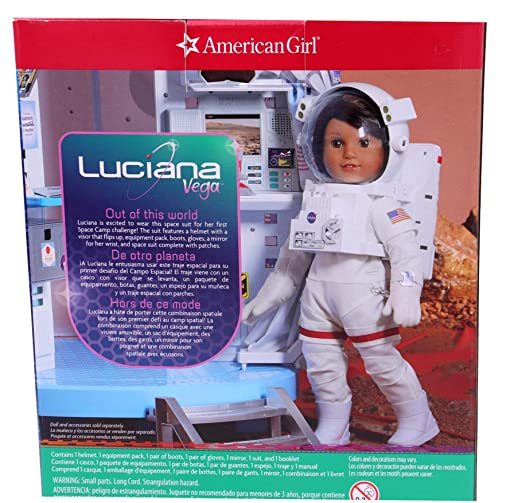 American Girl Luciana Vegas Space Suit