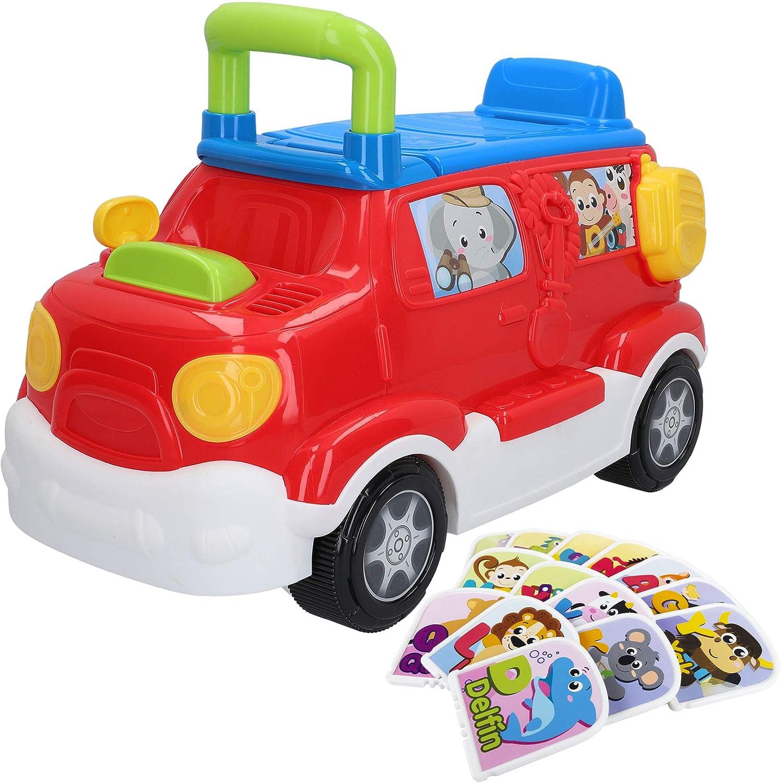 winfun - Correpasillos luces y sonidos, Camion juguete, Andador bebes, Correpasillos bebe 1 año, Juguetes bebe 18 meses, Camiones grandes de juguete, Andador bebe primeros pasos, Primera Infancia
