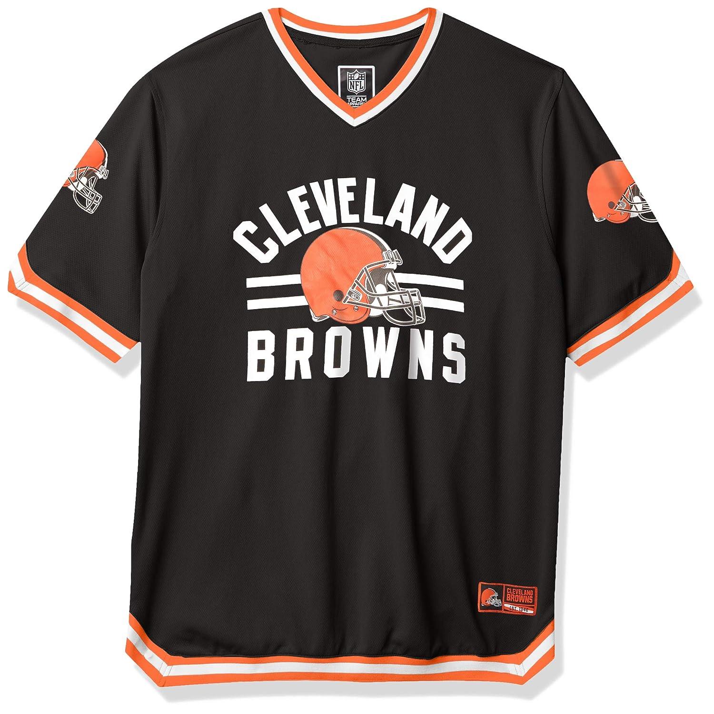 Ultra Game NFL Men's Standard Jersey V-Neck Mesh Stripe Tee Shirt ...