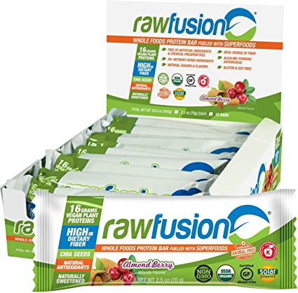 Amazon.com: San Raw Fusion Bar, 2570179, 12, 1, 1: Health ...