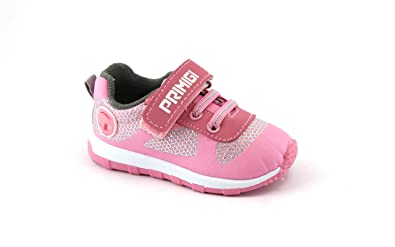 685ab30dd719f Primigi 1446255 Rosa Scarpe Bambina Strappo Elastici Sneaker 22  Amazon.it  Scarpe  e borse