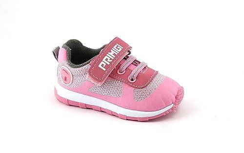 Primigi 1446255 Rosa Scarpe Bambina Strappo Elastici Sneaker