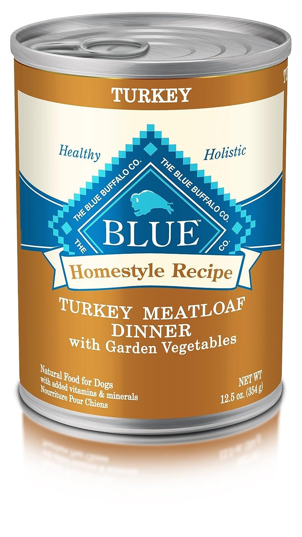bluee Buffalo bluee Homestyle Recipe Dog Tky Meatloaf Dinner 12.5 oz