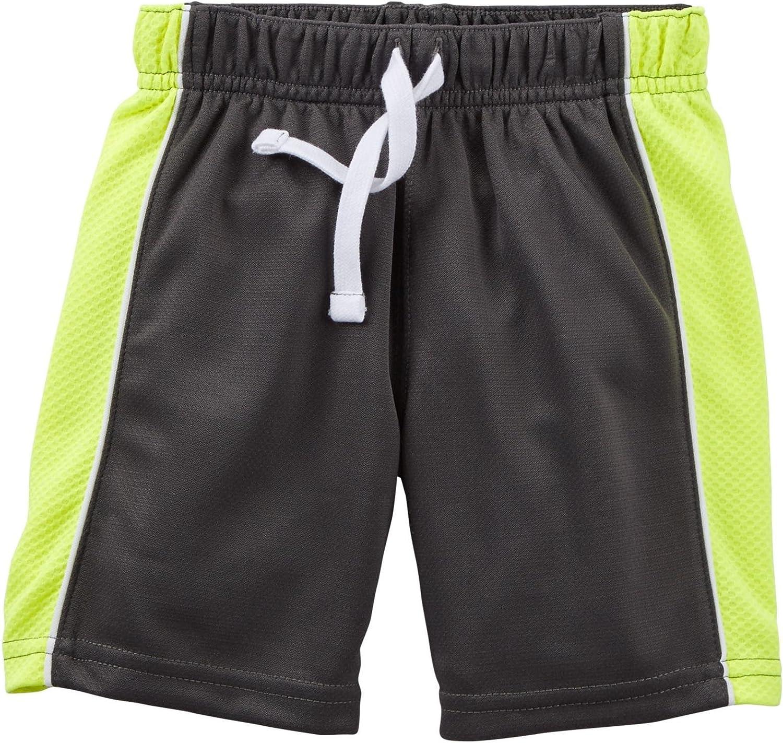 6M - Gray Baby Carters Unisex Baby Mesh Shorts