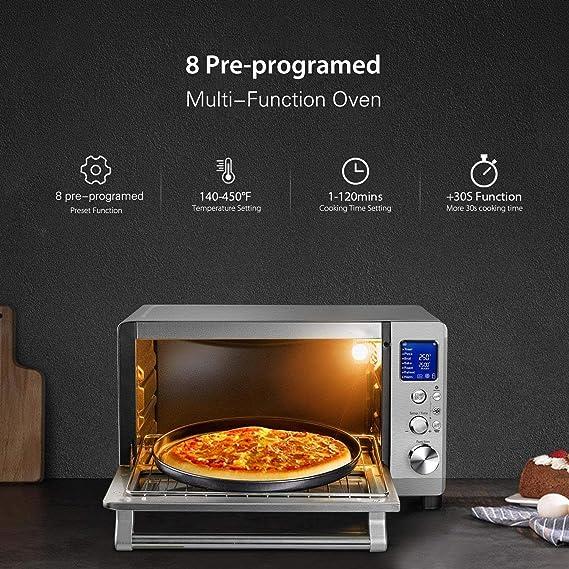 Amazon.com: Willsence Toaster Oven Convection Countertop ...