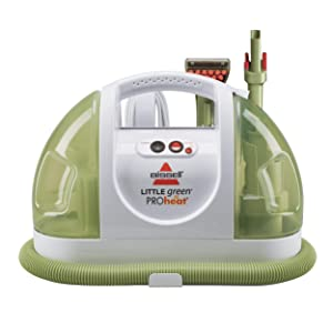 BISSELL Little Green ProHeat Portable Carpet and Upholstery Cleaner, 14259 (Renewed)