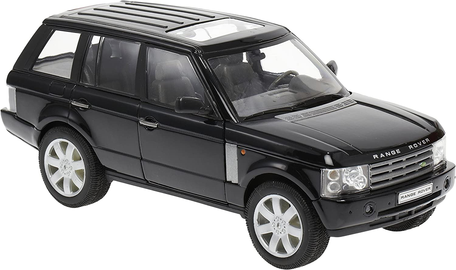 2003 Land Rover Range Rover Black 1/24 by Welly 22415