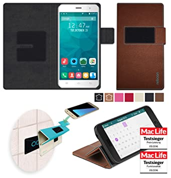 Cover for Vsun H9 Furious Case   in Brown Leather  : Amazon co uk