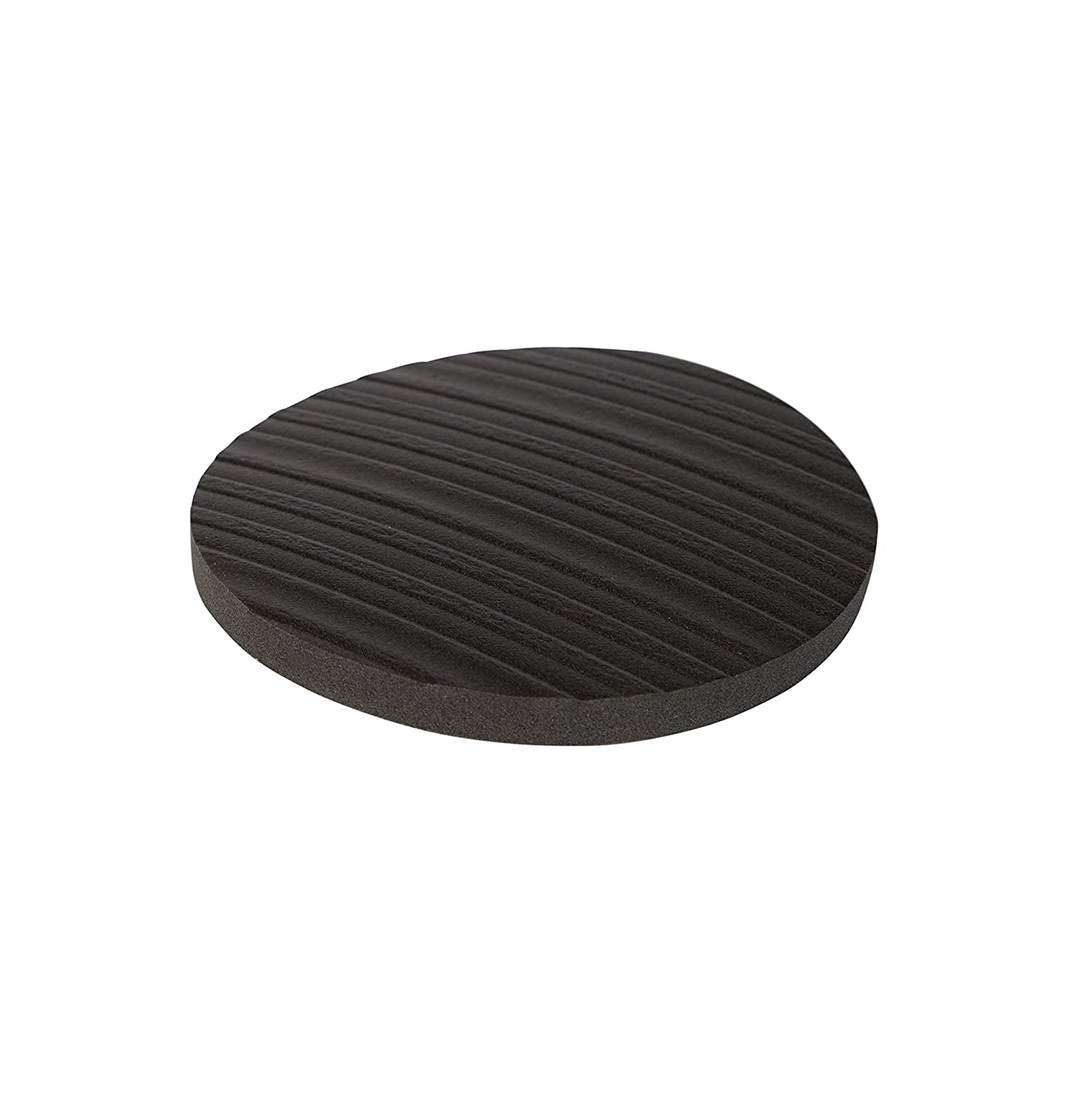 Stay! Furniture Pads, Round Furniture Grippers, Gripper Pads, Protect Your Floor | Works on Hardwood Floors and Carpet, Anti-Slip | Round Black, Set of 4 (4 inch)