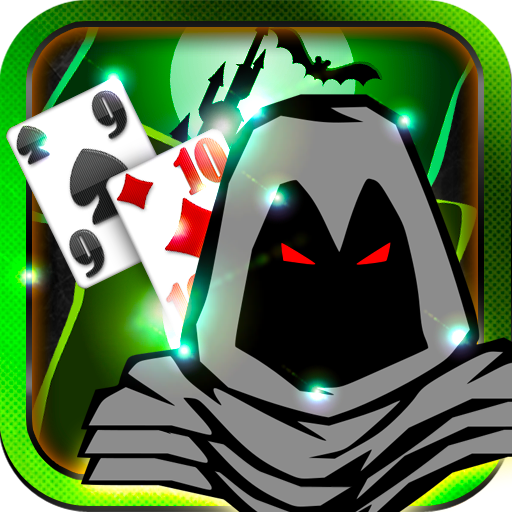 Spooky Ghost Scary Heroes Solitaire Free Cards Games HD Easy Play Solitario Gratis Horseman Doom Eyes Halloween for Kindle Download free casino apps offline without internet needed no wifi required. -