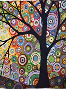 pingpi Double Sided Premium Garden Flag, Tree of Life Decorative Garden Flags - Weather Resistant & Double Stitched - 18 x 12.5 Inch