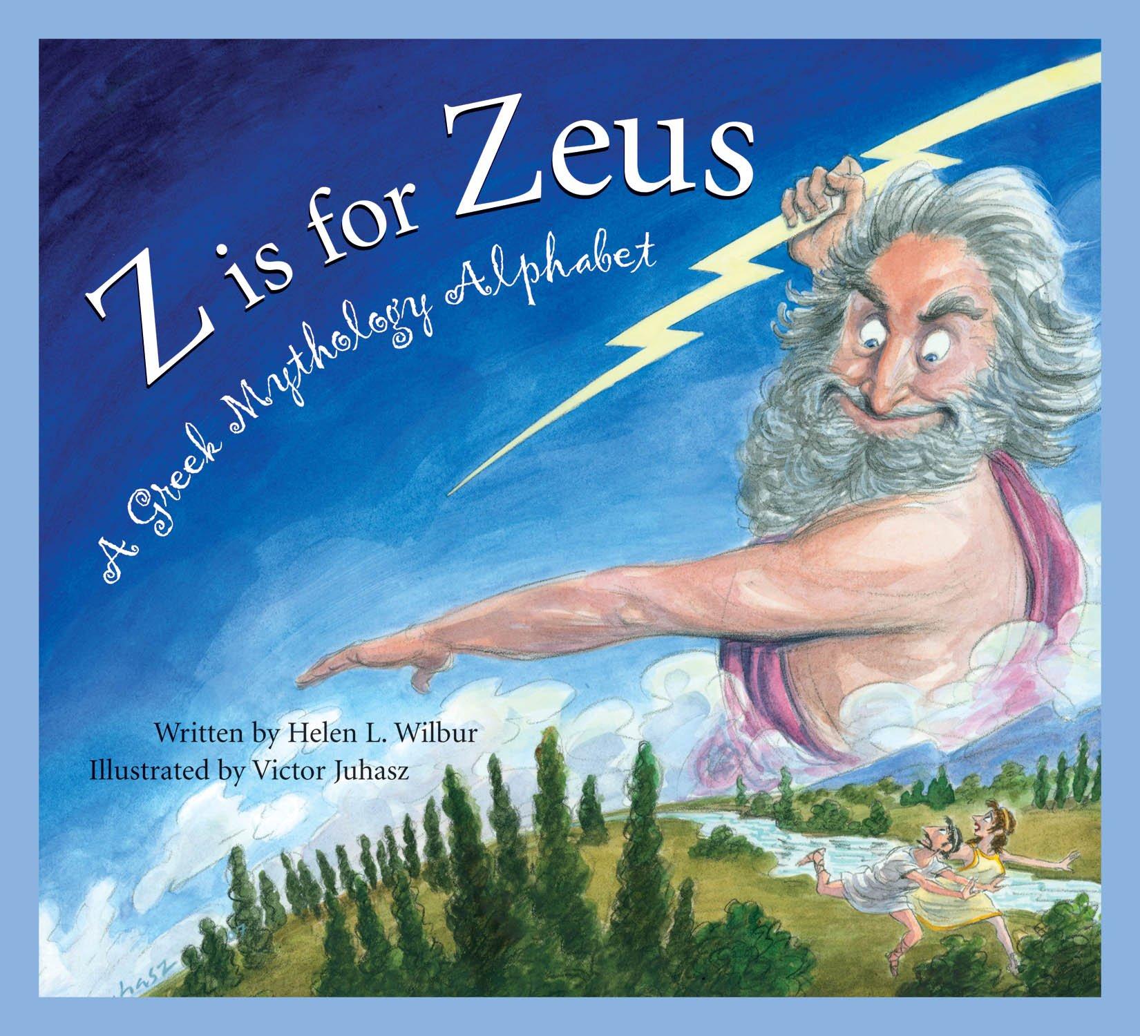 z is for zeus a greek mythology alphabet art and culture helen