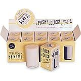 Original Sentol Push Down Japanese Bottle Openers - White (Pack of 10)