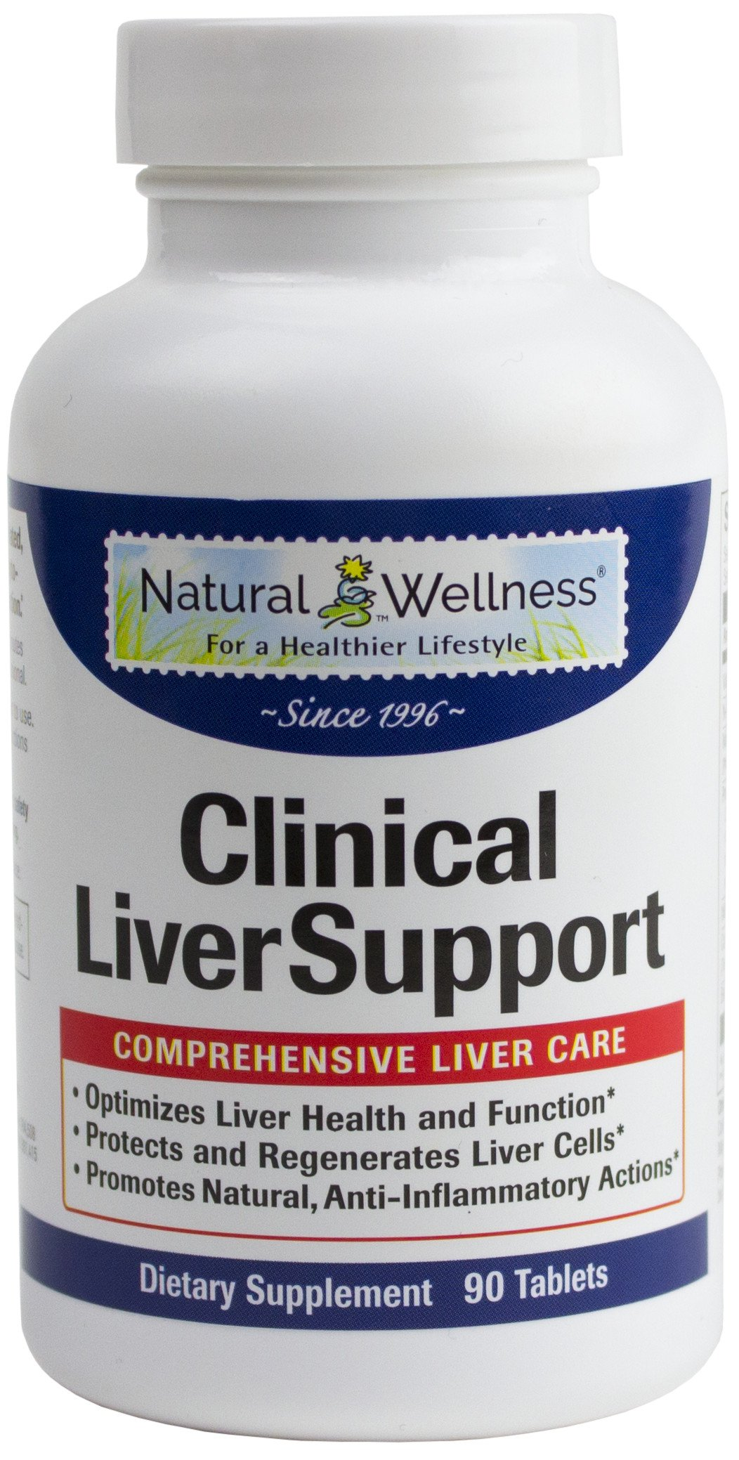 Natural Wellness Clinical Liver Support -12 Natural Supplements in 1 Bottle to Address All Your Liver Needs