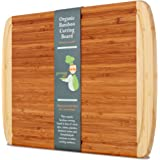 Greener Chef Bamboo Cutting Board & Wood Chopping Board, EXTRA-LARGE & ORGANIC, Will NEVER Dull Your Knives! Best Multipurpose Kitchen Appliance w/ Groove for Any Food-Prep Job, Strong & Eco-friendly!