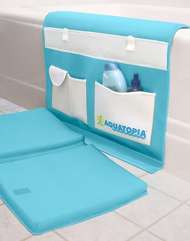 Amazon.com : AQUATOPIA Safety Bath Time Comfy Cushioned Easy Kneeler ...