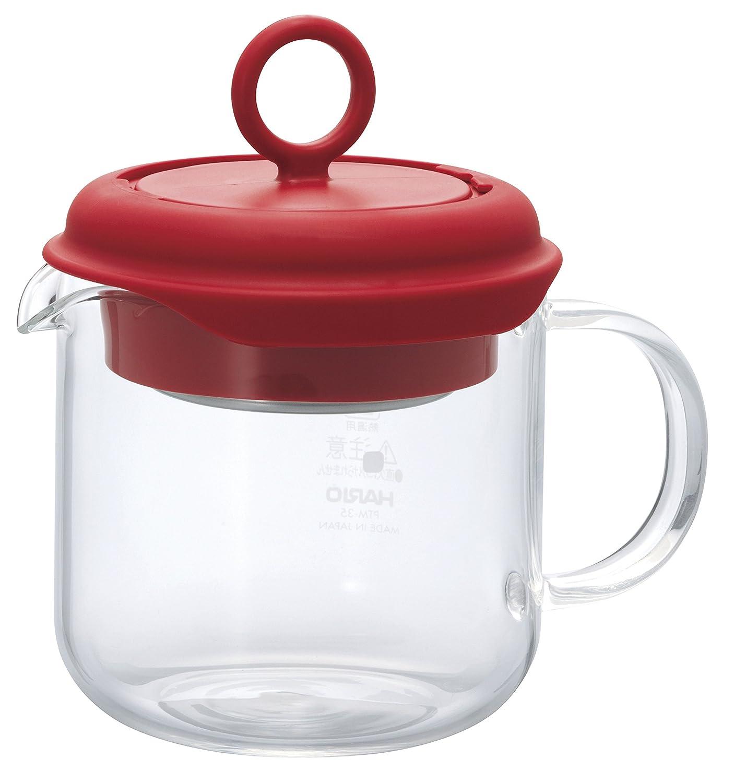 Hario 350 ml Tea Maker Pull-Up, Transparent PTM-35-OW