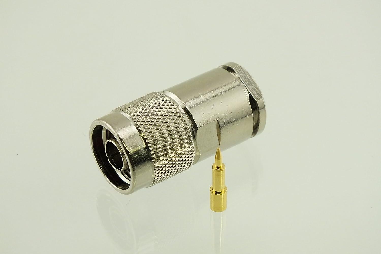 w5swl marca Premium Serie Conector N macho RF Radio de sujeción ...