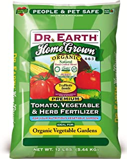 product image for Dr. Earth 711 Organic Tomato, Vegetable & Herb Fertilizer, 12-Pound