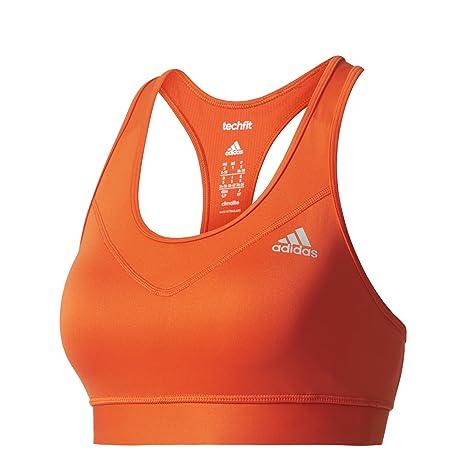 adidas TF Bra-Solid Sujetador Deportivo, Mujer: Amazon.es ...