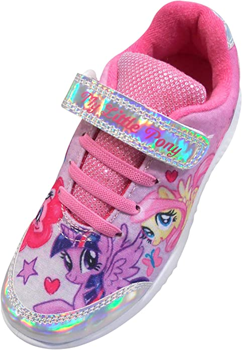 NEW My Little Pony Mauna Slippers size 6-12 girls shoes trainers sports pink
