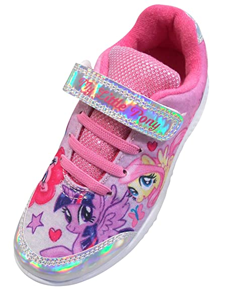 b62169ae947a My Little Pony Girls Sketch Low Top Sports Trainers Pink UK 6 Infant ...