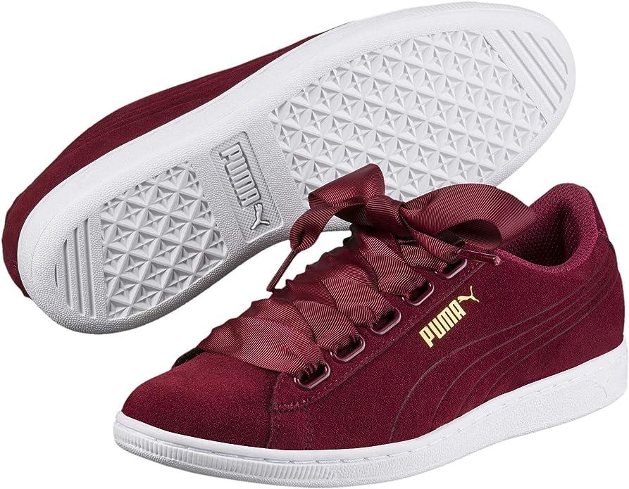 Puma Basket Heart Patent Sneakers Damen Rot (Tibetan Red)