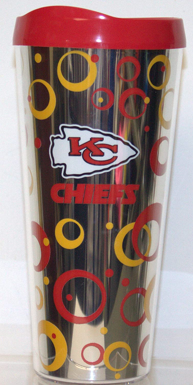 Boelter Brands Kansas City Chiefs 22 oz Metallic Look Tumbler