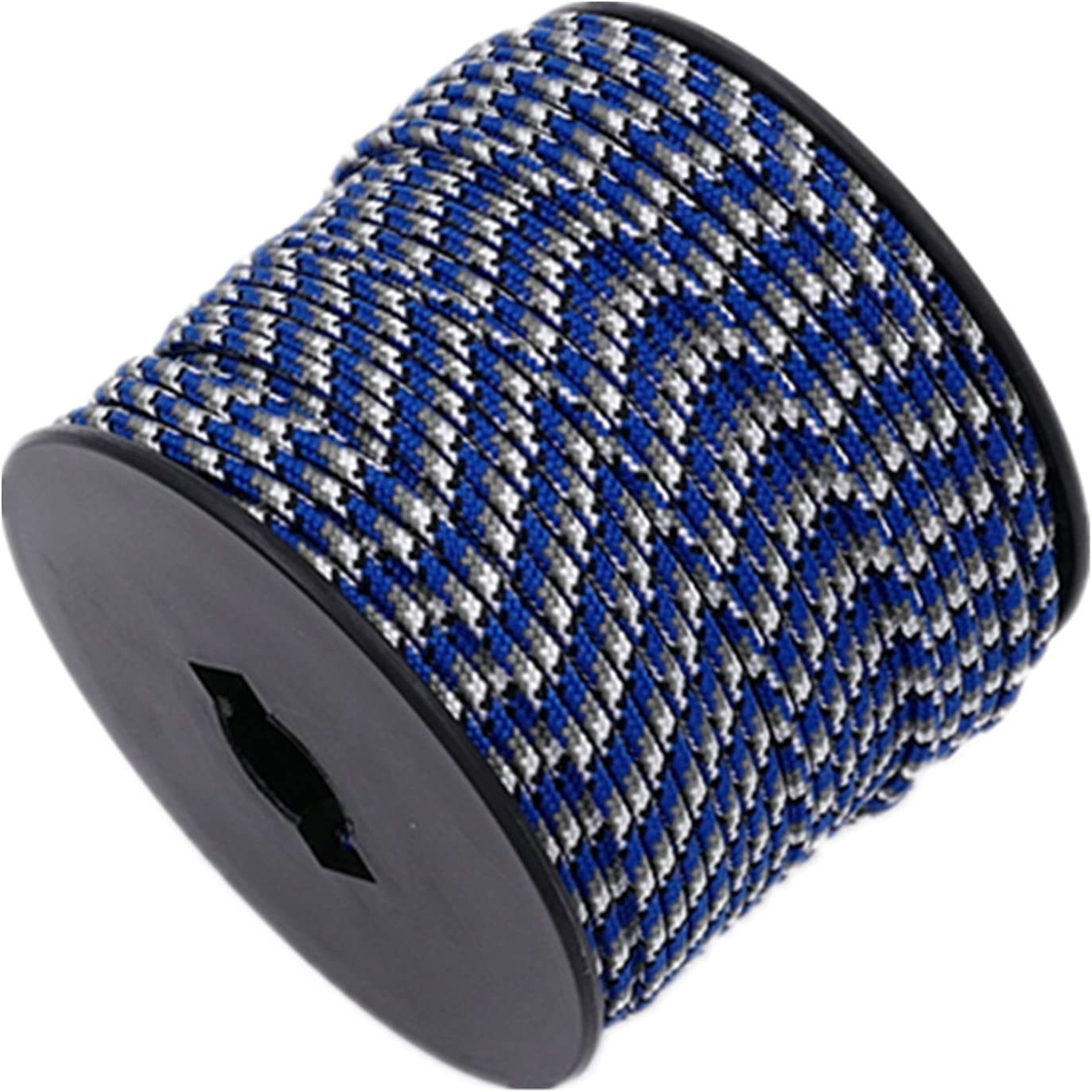 164ft Diamond Braid Nylon Rope,5 Strands Paracord Utility Rope,Multipurpose Nylon Twine 1//8 3mm
