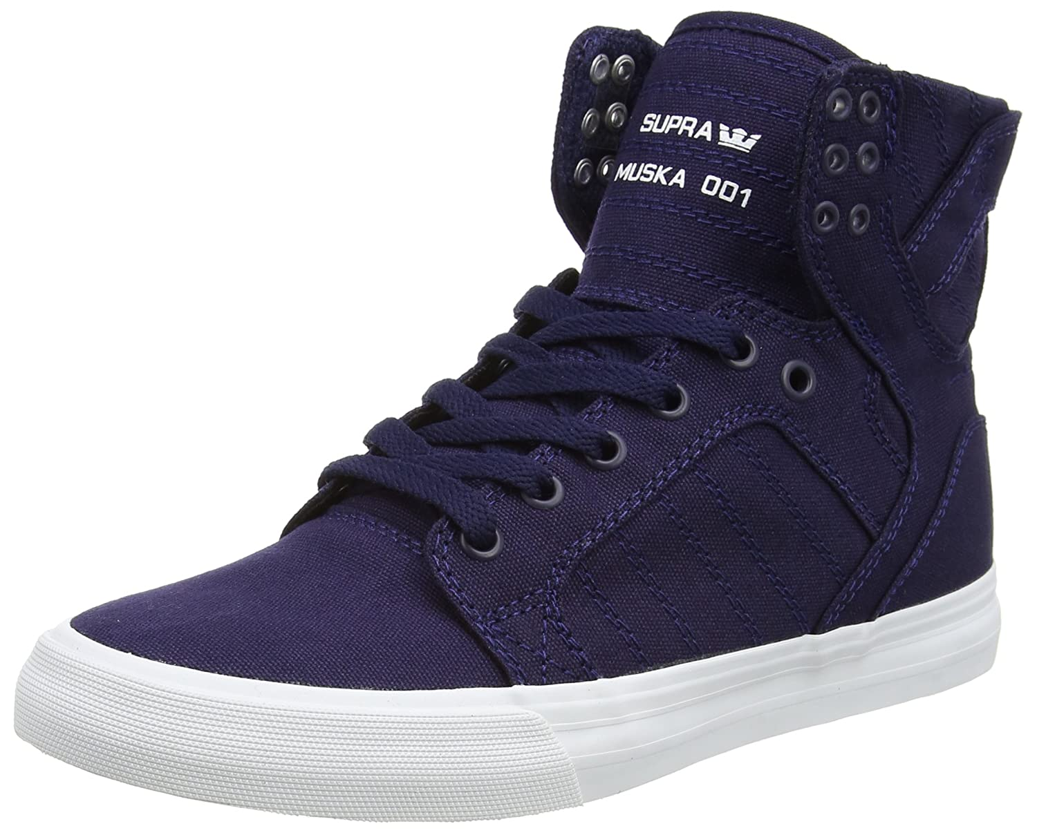 Shoes Supra skytop white advise to wear for autumn in 2019