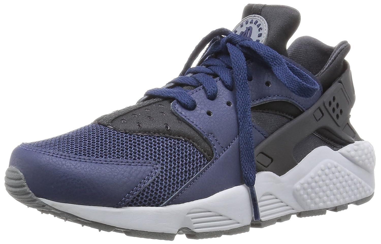 online store 7dd30 b9696 Amazon.com  NIKE Air Huarache 318429-409 Midnight NavyDark AshGrey  LeatherMesh Mens Shoes (Size 10)  Road Running