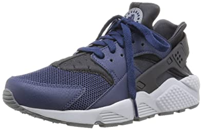 7300afc533b4 Image Unavailable. Image not available for. Color  NIKE Air Huarache  318429-409 Midnight Navy Dark ...