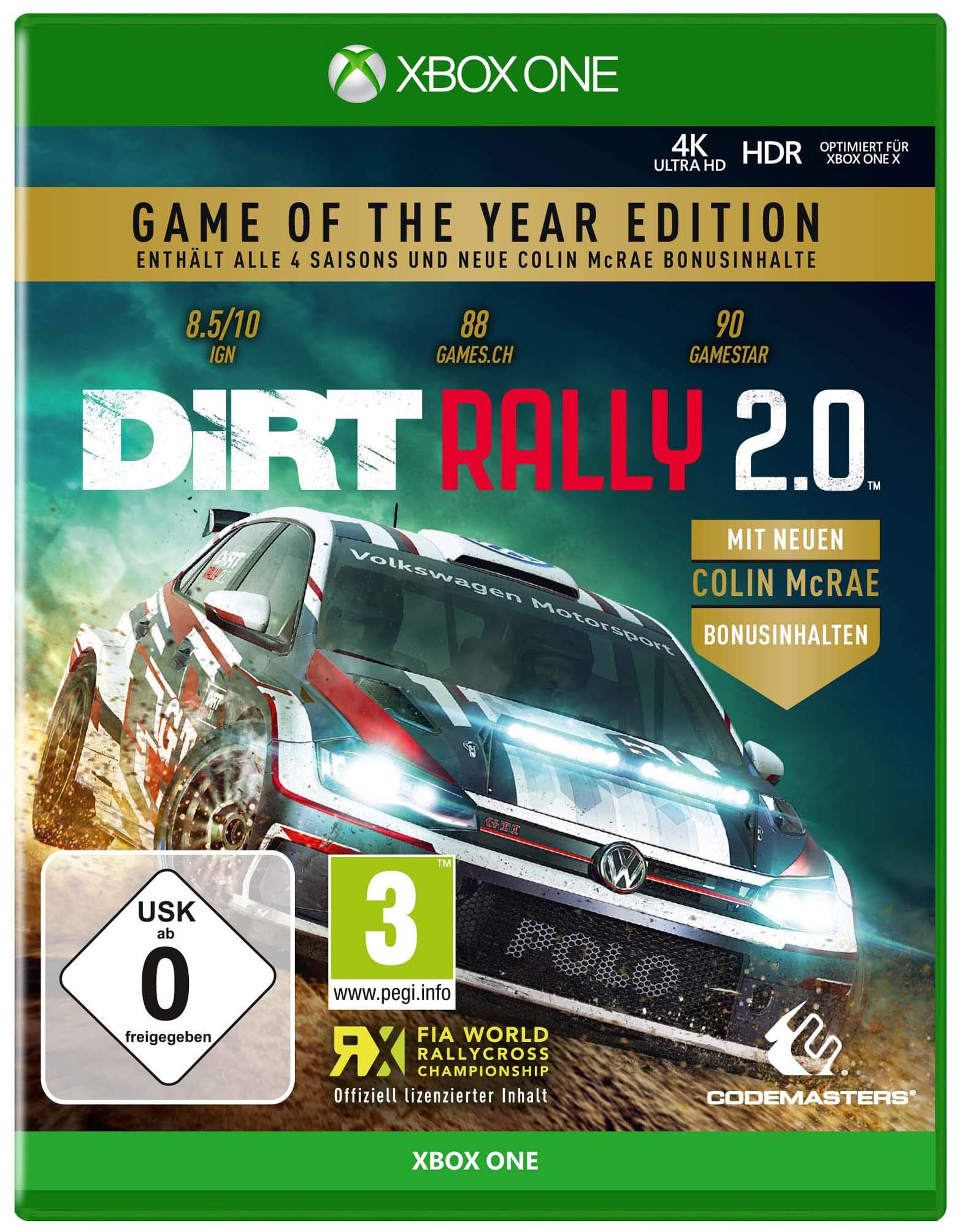 DiRT Rally 2.0 GOTY (XBox ONE): Amazon.es: Libros