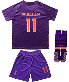 new style 42641 e66de Amazon.com: Soccer Youth Jersey Set ○ Liverpool ○ Home ...