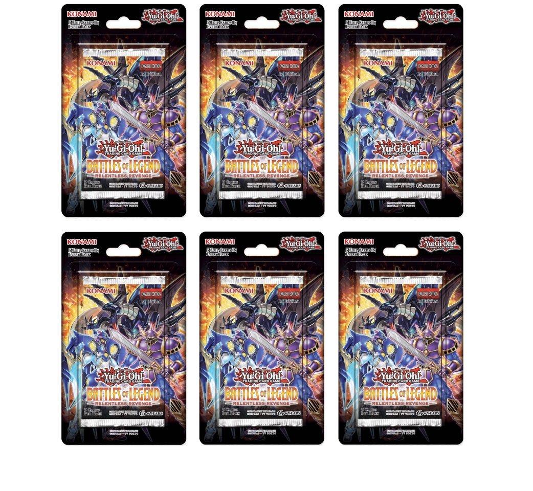 Yu-Gi-Oh Battles of Legend Relentless Revenge (6 Blister Packs)