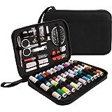 [Kit de Couture] Luxebell 92 accessoires Kit de Couture Complet Professionnel Portable Set de Couture Inclus un Sac de Transport pour Voyage Famille Maison