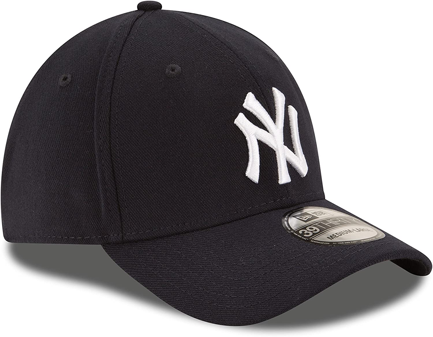 MLB New York Yankees Team Classic Game 39Thirty Stretch Fit Cap Blue Large//X-Large