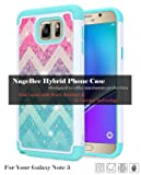 Note 5 Case, Galaxy Note 5 Case, NageBee Glitter