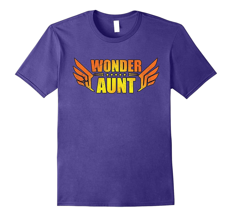 Wonder Aunt - Super Auntie - My Hero Woman T-Shirt-ANZ