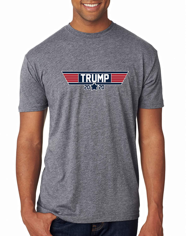 Trump 2020 Election Top Gun Parody S Humor Tri Blend Shirts